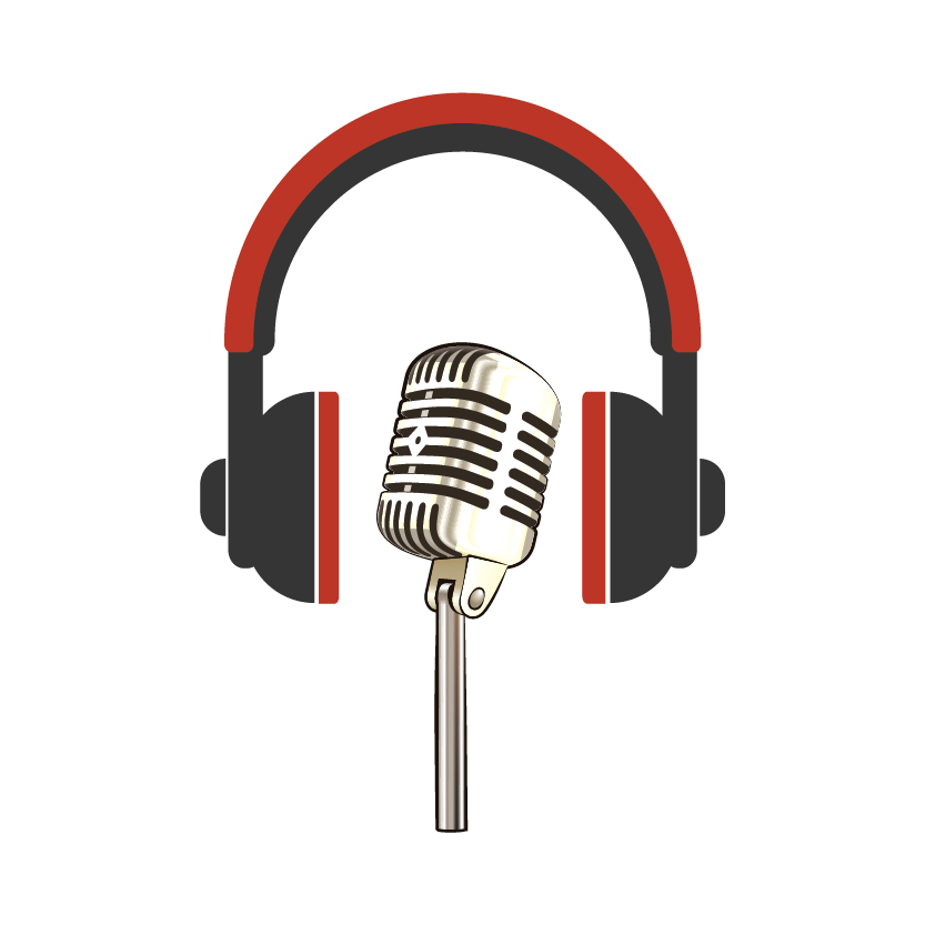 Audio recording and hearing options as headphones and a stage mic